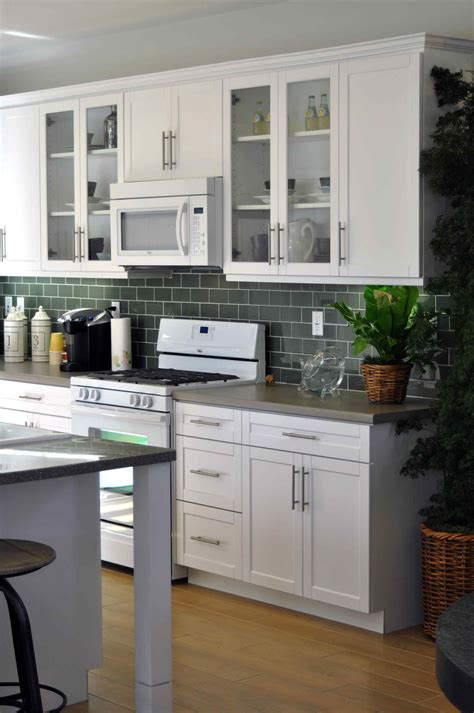 modern white shaker kitchen deductour com