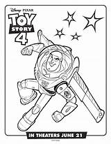Coloring Toy Buzz Lightyear Disney Printable Blogx sketch template