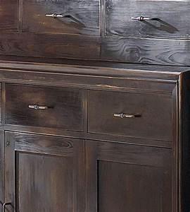 Sideboard Schwarz Holz : buffetschrank modern 3 t rig mit 3 schubladen massiv aus holz ~ Whattoseeinmadrid.com Haus und Dekorationen