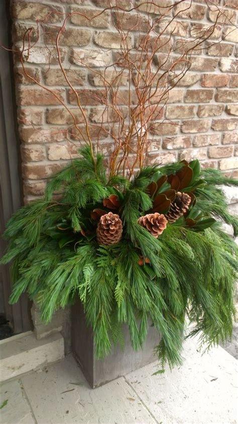 christmas greenery ideas  pinterest natural
