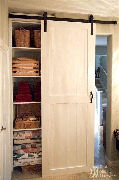 white closet sliding barn doors   kind