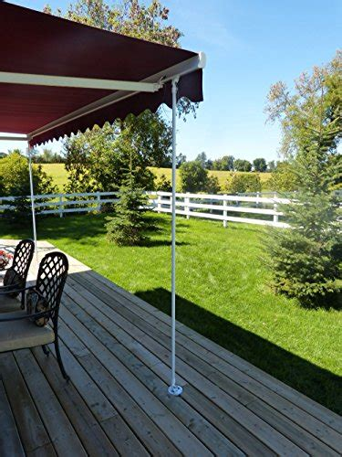 awning assist brace universal wind support pole leg  retractable patio awning awnings