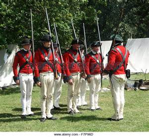 Colonial British Soldiers 1776