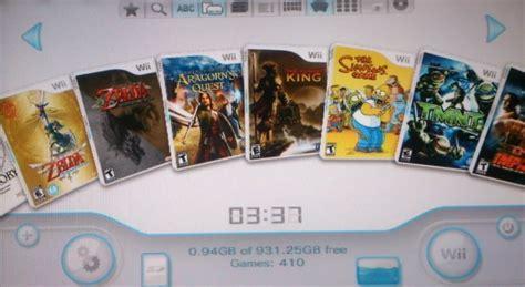 Wii u usb helper descargar juegos dlc updates de wii u por. Nintendo Wii Con 410 Juegos Disco Duro Usb Gamecube Mario - $ 499.000 en Mercado Libre