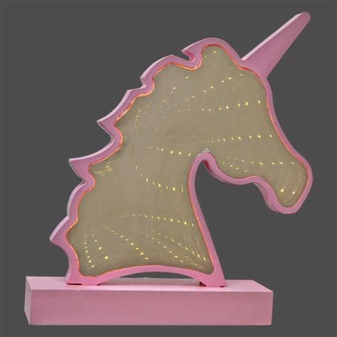 unicorn infinity mirror  led light buy   qd