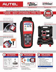 Autel Tpms Relearn Tool Ts408  Upgraded Version Of Ts401