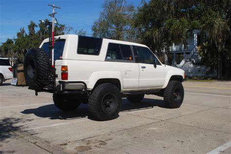 jeep bronco white 1989 toyota 4runner 1st gen not landcruiser fj40 jeep
