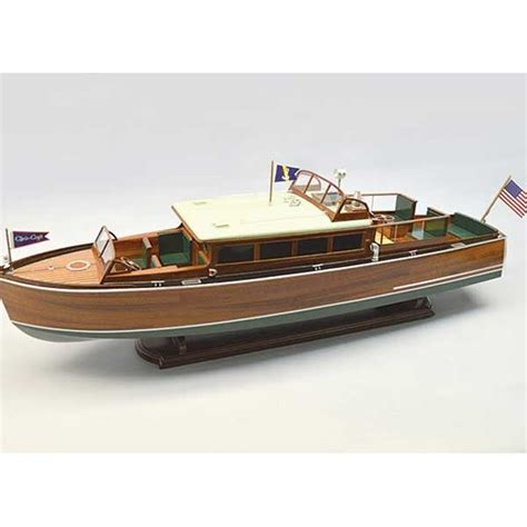 Chris Craft Wooden Boat Model Kits by 1929 Chris Craft Commuter Wooden Boat Kit 1 12 Scale