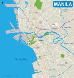Manila Philippines Map