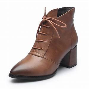 Maguidern Brand 2018 Vogue Leather And Short Boots Women