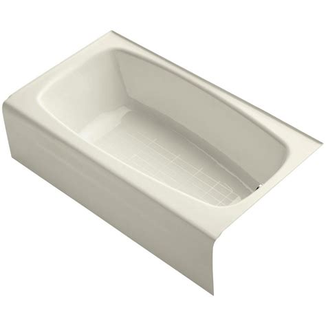 Wide Soaking Tub by Kohler Seaforth 4 5 Ft Right Drain Rectangular Alcove