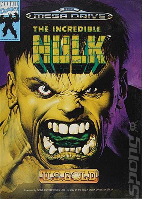 covers box art  incredible hulk sega megadrive