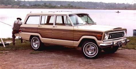wood panel jeep cherokee the rumor behind the jeep grand wagoneer 39 s wood panels