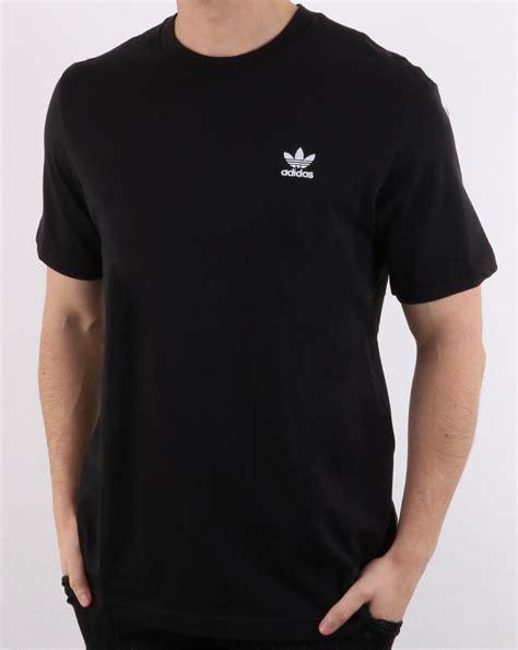 Adidas Originals Essential T Shirt Black | 80s casual classics