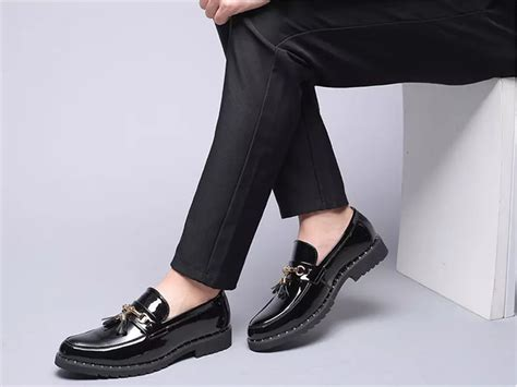 Merkmak Men Loafers Exquisite Leather Shoes For Man