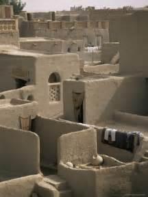 Africa Mali Mud Houses