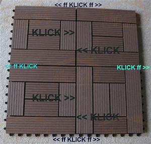 Wpc Platten Günstig : holzfliese wpc holz modulares klicksystem ~ A.2002-acura-tl-radio.info Haus und Dekorationen