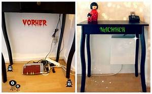 Kabel Verstecken Ikea : schuhkarton upcycling weg mit dem kabelsalat ideen wohnungsdeko ~ Frokenaadalensverden.com Haus und Dekorationen