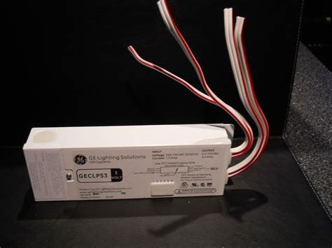 ge lighting solutions led systems geclps3 4 lead power supply