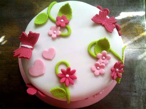 idee decoration gateau pate sucre