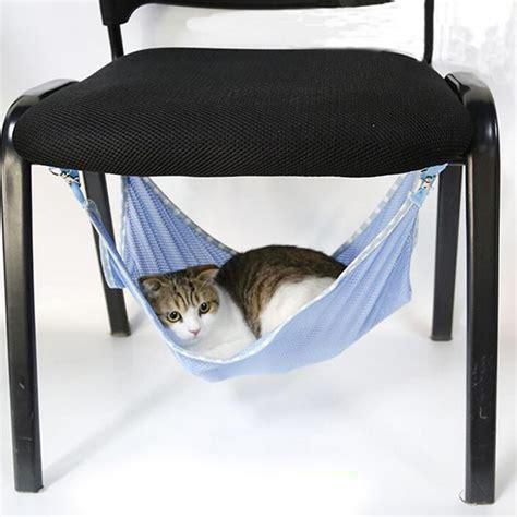 cat hammock bed breathable mesh summer cat bed pet hammock rest cat mats