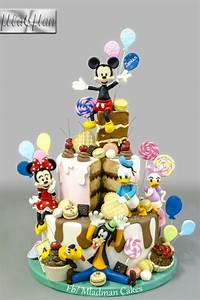 Mickey & Friends Birthday Party Cake by MLADMAN | Disney ...