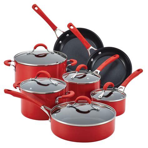cookware circulon nonstick innovatum piece pans pots walmart millennium farberware stainless steel sets aluminum kitchen