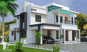 Splendid Contemporary House Designed By Best Builders
