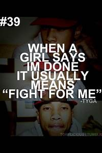 tyga quotes | Tumblr | Tumblr relationship quotes ...