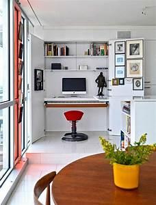 Meuble Bureau Design : bureau suspendu de beaux exemples de petits meubles ~ Melissatoandfro.com Idées de Décoration
