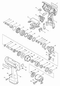Spares For Makita 6797d Cordless Impact Driver 9 6v Spare