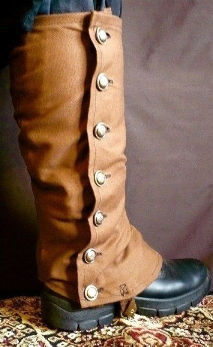 Spats Short Coverings For The Ankles Instep Usually