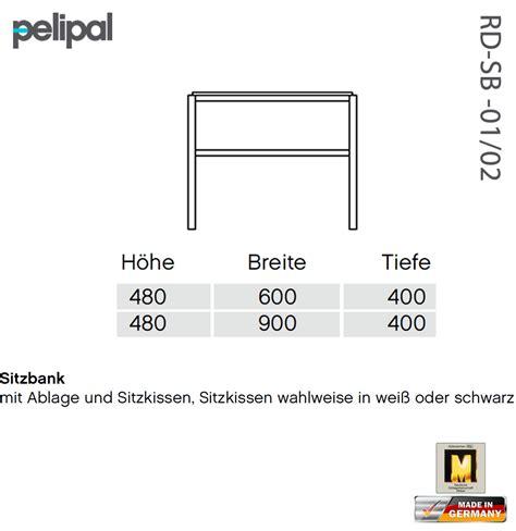 Sitzbank 60 Cm by Pelipal Solitaire 7005 Sitzbank 60 Cm Oder 90 Cm Rd Sb