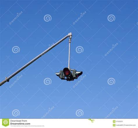 hanging traffic light stock image image 37533231