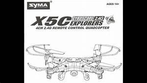 Syma X5c-1 Quadcopter Camera Drone