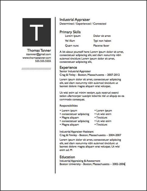 Experience Column In Resume by Drop Cap Pages Resume Template Free Iwork Templates