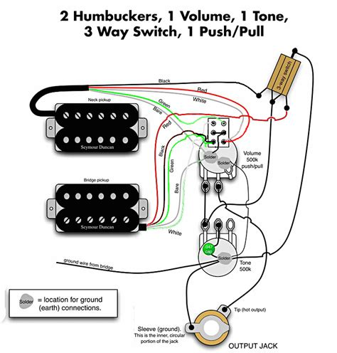 Humbuckers Dpdt Switch Guitarnutz