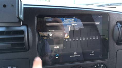 ford  ipad mini slider kit installation sony radio app
