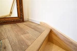 Marche D Escalier En Chene : pose d un parquet contre coll sur escalier caresol ~ Melissatoandfro.com Idées de Décoration