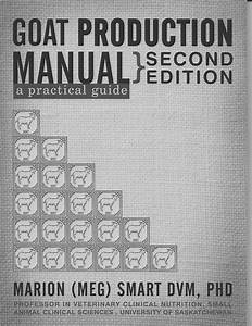 Pdf  Goat Production Manual  A Practical Guide