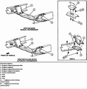 1996 F150 4 9l 5 Speed Transmission Removal Question  Following A Service Manual That Covers