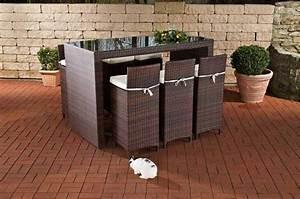 Bar Set Möbel : 7 tlg bar set gartenbar inkl kissen rattan 3 farben cl laos kaufen bei eh m bel ~ Sanjose-hotels-ca.com Haus und Dekorationen