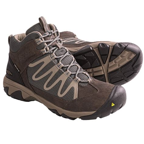 light hiking shoes keen verdi mid wp light hiking boots waterproof for