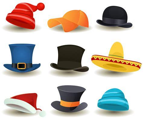 caps top hats   head wear set