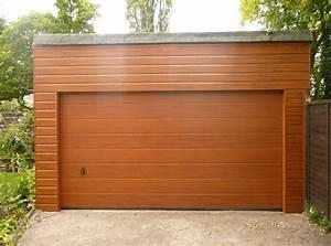 Garage En Bois Toit Plat : photos de garages en bois construire garage com ~ Dailycaller-alerts.com Idées de Décoration