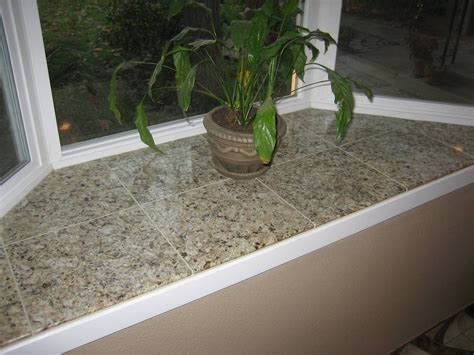Window Sill Ledge by Matching Tile On The Bay Window Ledge Room Redo In 2019