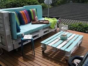 stunning table en palette pour jardin photos amazing With awesome idee pour jardin exterieur 16 deco cuisine levis