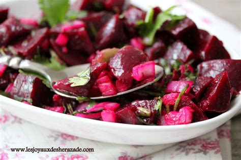 salade de betteraves les joyaux de sherazade