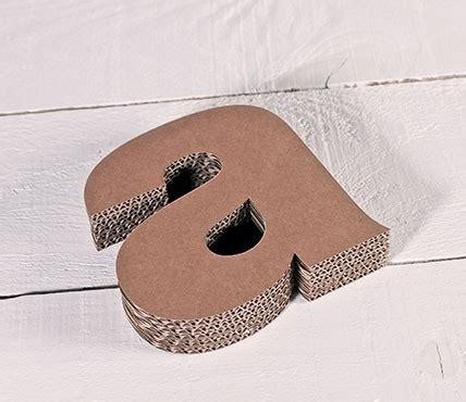 Buchstaben Aus Pappe by Kleinbuchstaben Aus Pappe Zum Dekorieren