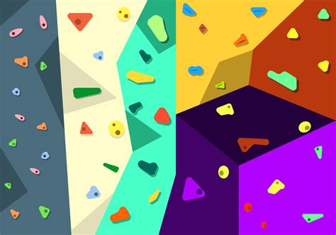 Free Climbing Wall Vector Download Art